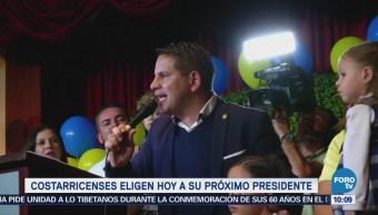 Costarricenses Eligen Próximo Presidente