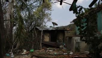 Desplazados de San Miguel Totolapan, por violencia, llegan a bastión de 'Los Tequileros'
