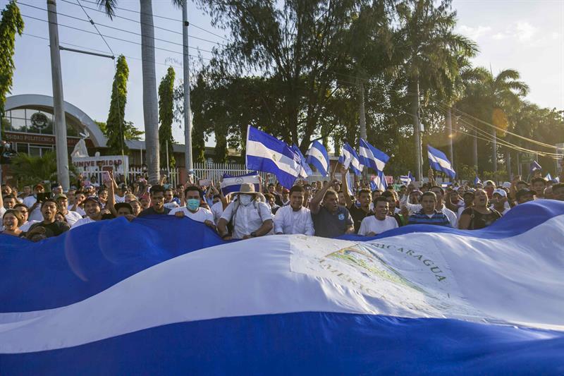 ONU denuncia asesinatos ilegales en el marco de protestas en Nicaragua