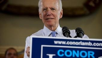 Joe Biden no descarta postularse para la Presidencia de EU en 2020
