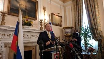 Embajador ruso solicita una reunión con Boris Johnson sobre caso Skripal