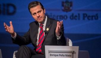 Crisis migratoria no se puede resolver de manera aislada: EPN