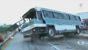Accidentes carreteros dejan nueve muertos