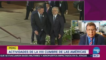 Actividades de la VIII Cumbre de las Américas en Perú