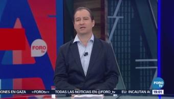 Televisa News, Agenda Pública, Mario Campos, Programa, Abril
