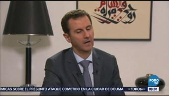 Al Assad Bombardeo Siria Campaña De Mentiras
