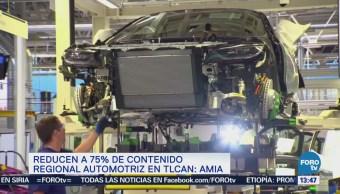Amia Eu Baja 75% Demanda Contenido Regional Autos Tlcan