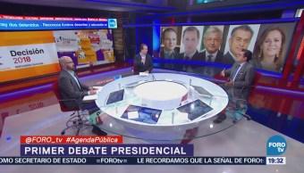 Análisis post-debate Agenda Pública Claudio Flores Luis Espino