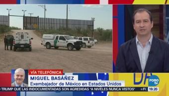 Anuncio de Trump causa molestia en México dice Miguel Basáñez
