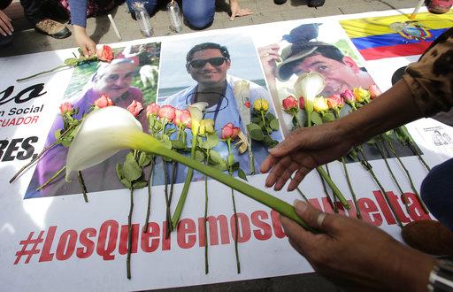 SIP denuncia poca transparencia de Ecuador en caso de periodistas asesinados