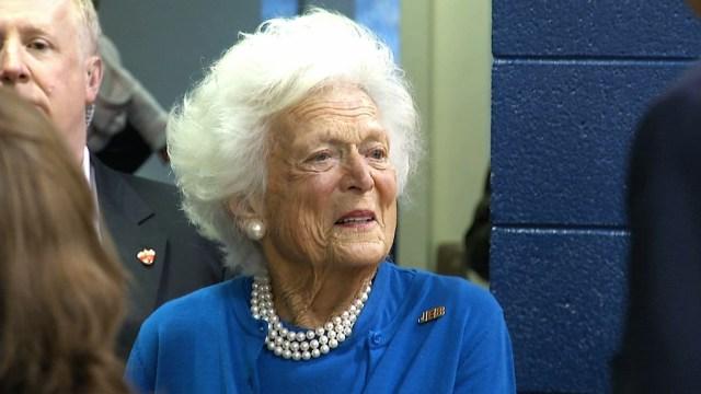 Barbara Bush está grave, no recibirá más tratamiento