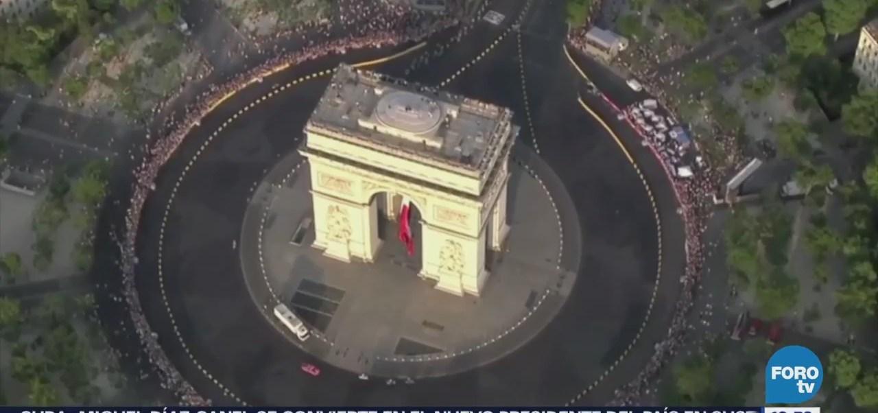 Arco del Triunfo de Francia mantiene como uno de sitios más célebres