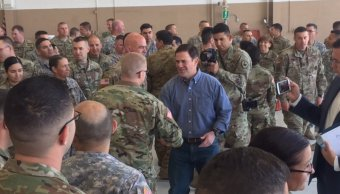 Arizona despliega frontera México soldados Guardia Nacional