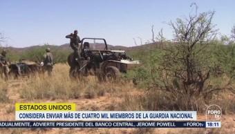 Arizona Enviará 150 Elementos Guardia Nacional Frontera México