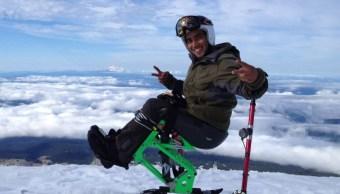 Arly, el único mexicano que participó en los Juegos Paralímpicos de Pyeongchang