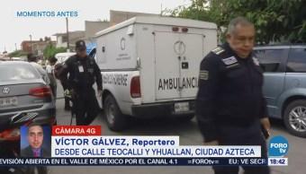 Asaltan Asesinan Hombre Ciudad Azteca
