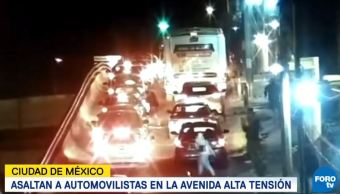 Captan asalto múltiple en avenida Alta Tensión hay un detenido
