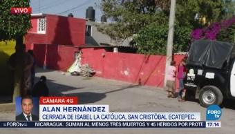 Asesinan Tres Personas Dentro Domicilio Ecatepec
