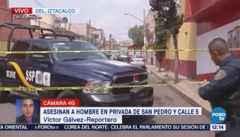 Asesinan a un hombre en la colonia Pantitlán, CDMX