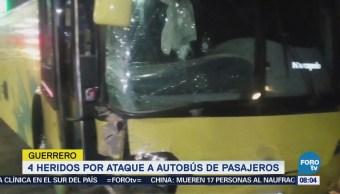 Atacan Autobús Pasajeros Guerrero