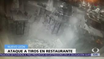 Atacan a tiros al empresario Sabás Canavati en restaurante de Nuevo León