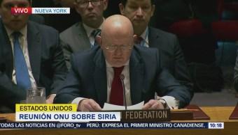 Ataque a Siria genera nueva espiral de violencia Rusia