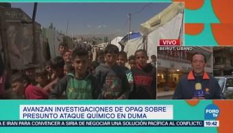 Avanzan investigaciones de OPAQ sobre presunto ataque químico en Duma