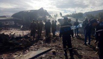 mueren 181 militares argelinos estrellarse avion militar cerca argel