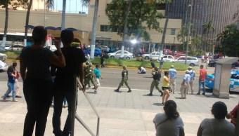 Balacera en el puerto de Acapulco deja un lesionado
