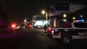 Ataque armado deja 12 personas heridas en bar de Cuernavaca, Morelos