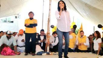 Barrales promete combatir la inseguridad en Xochimilco y Tlalpan