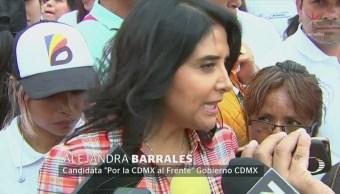 Barrales Deslinda Protestas Trabajadores Cdmx Amlo