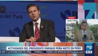 Epn Participa Cumbre Américas Perú