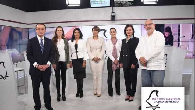 debaten candidatos gobierno ciudad mexico