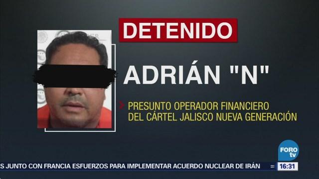 Capturan Presunto Contador Cártel Jalisco Nueva Generación