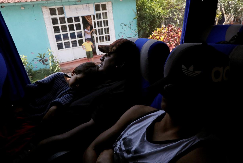 Caravana de migrantes llega a la Ciudad de México