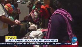 Caravana Viacrucis Migrante 2018 Llega Puebla