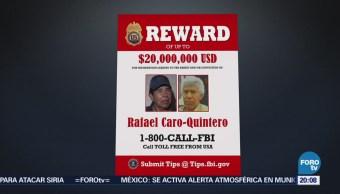 Rafael Caro Quintero Más Buscados FBI EU
