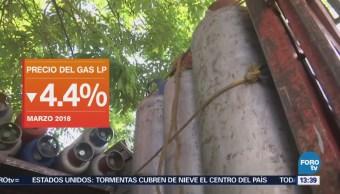 Cede Precio Gas Lp