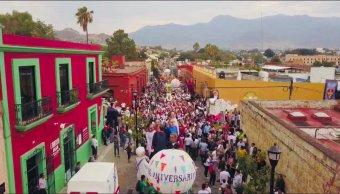 Celebración del 486 aniversario de Oaxaca
