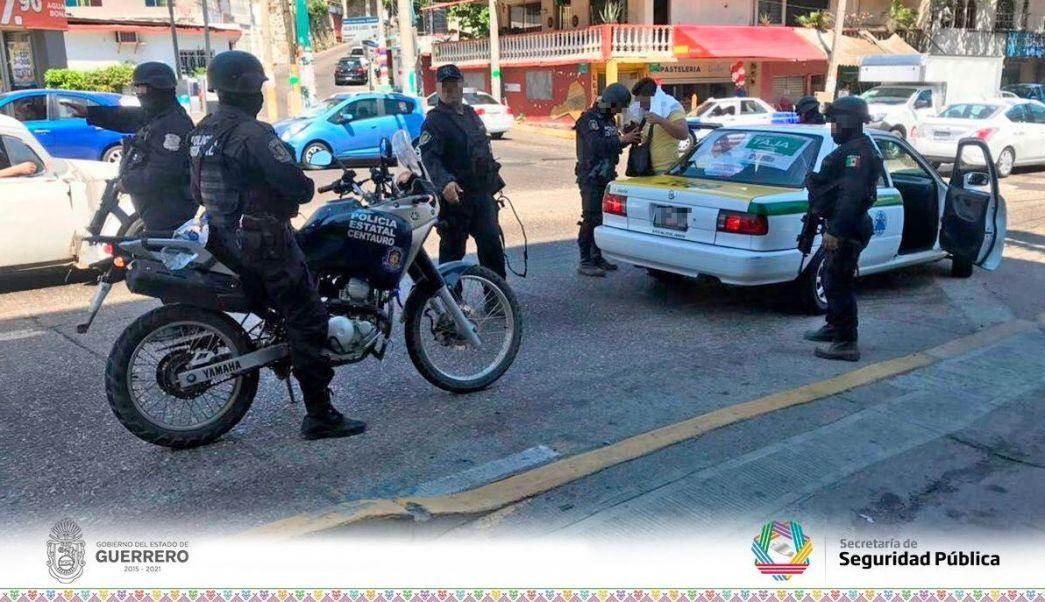 Grupo 'Centauro' refuerza seguridad en colonias de Acapulco, Guerrero