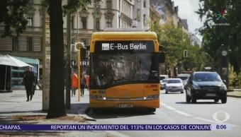 Ciudades europeas ponen en marcha transporte público inteligente