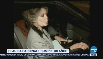 Claudia Cardinale Cumple 80 Años