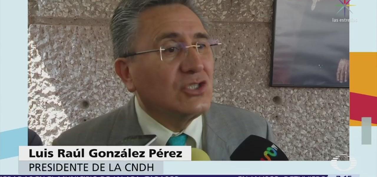 CNDH pide a EU diálogo equitativo con México, no supremacista