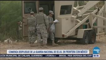 Comienza Despliegue Guardia Nacional Eu Frontera México