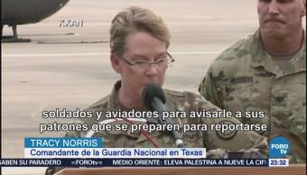 Comienza envío de tropas de la Guardia Nacional a la frontera