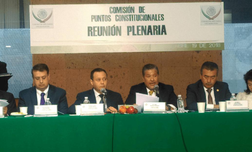 Diputados aprueban eliminar fuero al Presidente y servidores públicos