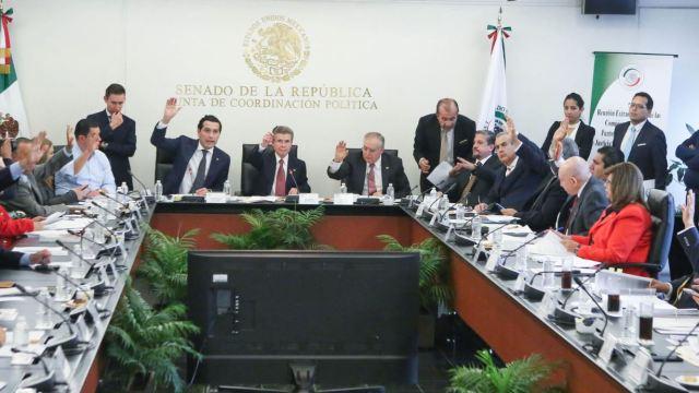 Comisiones Unidas del Senado analizan iniciativas en materia de fuero