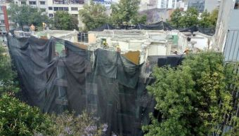 Termina demolición de inmueble en Melchor Ocampo con daños tras sismo 19S