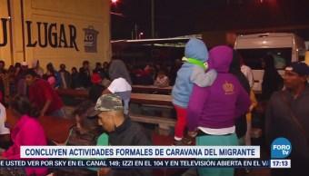 Concluyen Actividades Caravana Migrante Cdmx